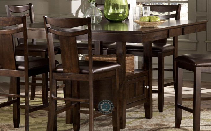 Broome Counter Height Extendable Table with Storage Base