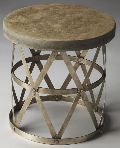 Dobson Industrial Chic Metalworks Side Table