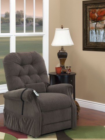 Bromley Cobblestone Wide Three Way Reclining Lift Chair