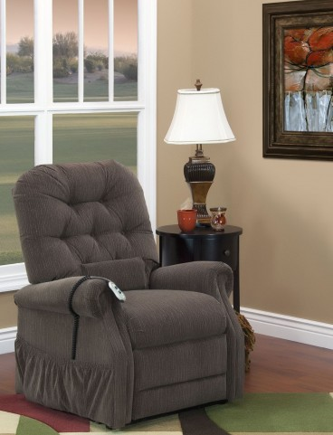 Bromley Cobblestone Wide Two Way Reclining Lift Chair