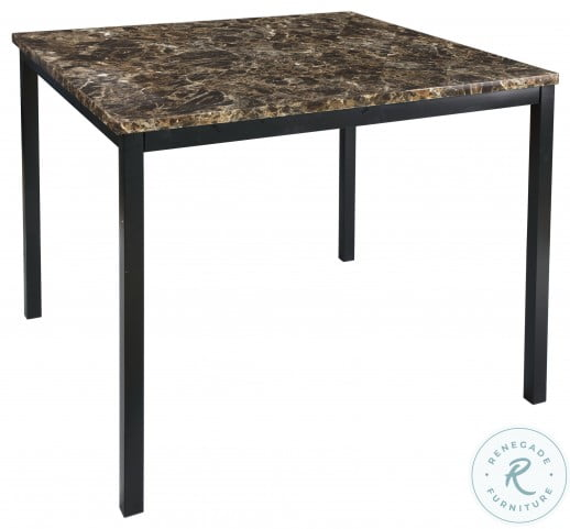 Tempe Black Counter Height Dining Room Set