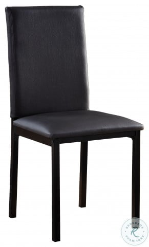 Tempe Black Side Chair Set Of 4