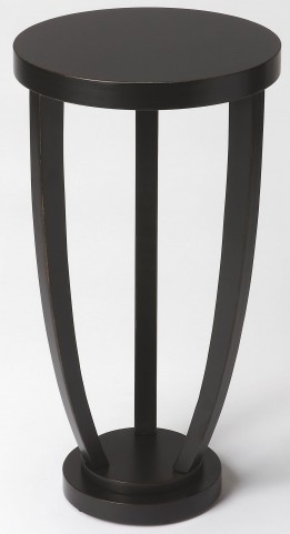 Tidewater Black Licorice Accent Table