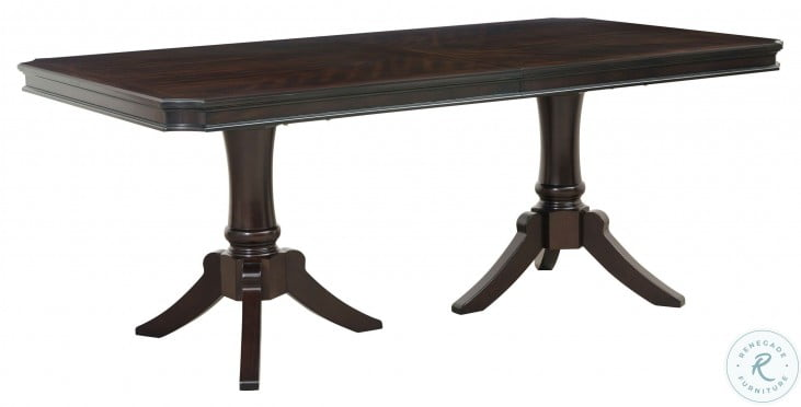 Marston Dark Cherry Rectangular Extendable Dining Room Set