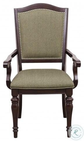 Marston Dark Cherry Arm Chair Set of 2