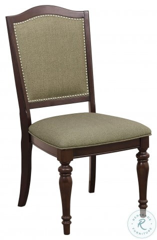 Marston Dark Cherry side Chair Set of 2