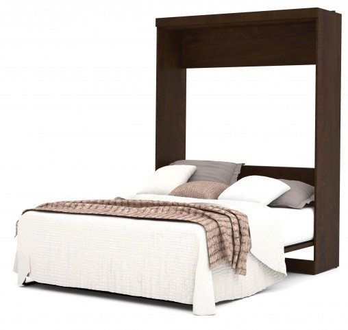 Pur Chocolate Queen Wall Bed