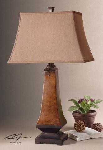 Caldaro Rustic Table Lamp