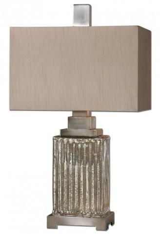 Canino Mercury Glass Table Lamp