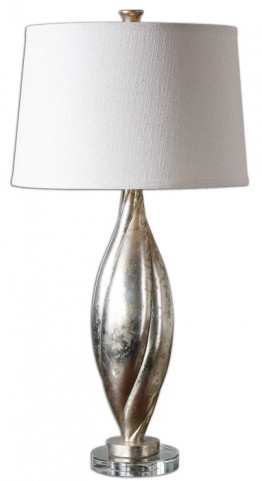 Palouse Champagne Leaf Lamp