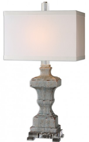 San Marcello Blue Glaze Lamp