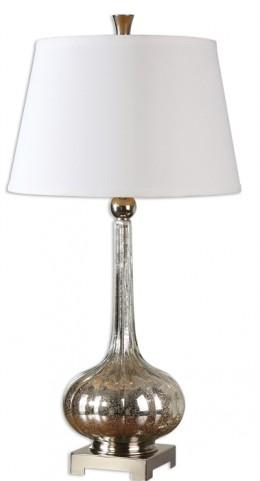 Oristano Mercury Glass Lamp
