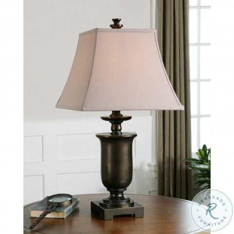 Viggiano Bronze With Gold Table Lamp Set Of 2