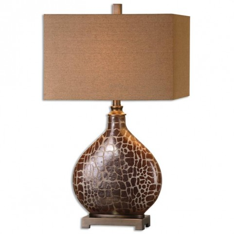 Somali Dark Bronze Table Lamp