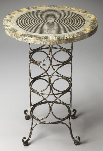 Markham Metalworks Accent Table