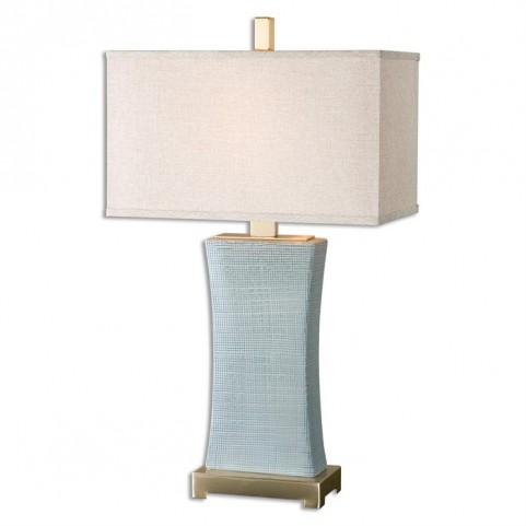Cantarana Blue Gray Table Lamp