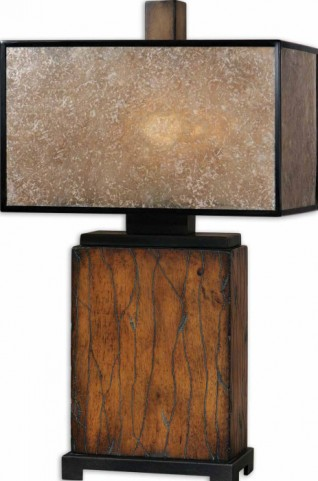 Sitka Wood Table Lamp