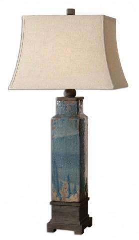 Soprana Blue Table Lamp
