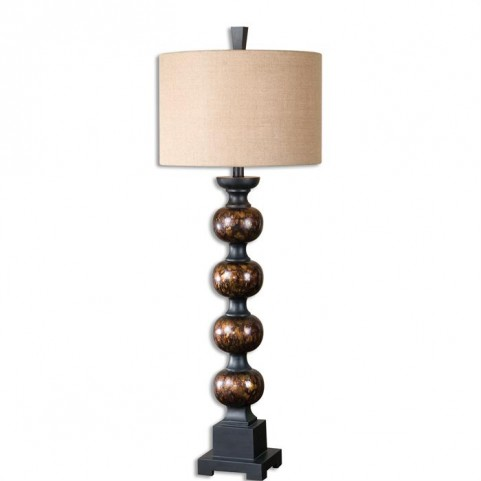Massadona Stacked Spheres Buffet Lamp