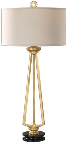 Torano Antiqued Gold Lamp