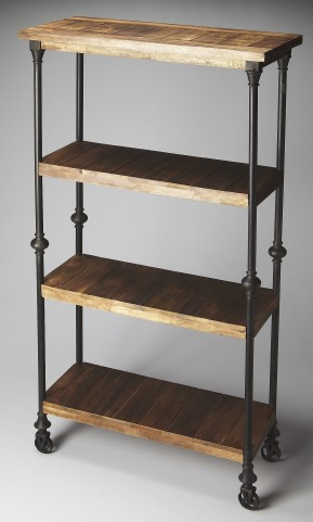 Fontainebleau Industrial Chic Artifacts Bookcase