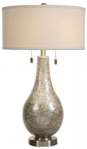 Saracena Mercury Glass Lamp