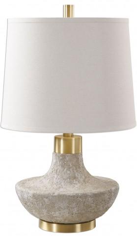 Volongo Stone Ivory Lamp