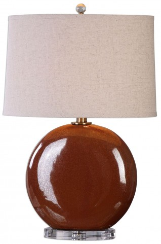 Alento Rust Bronze Table Lamp