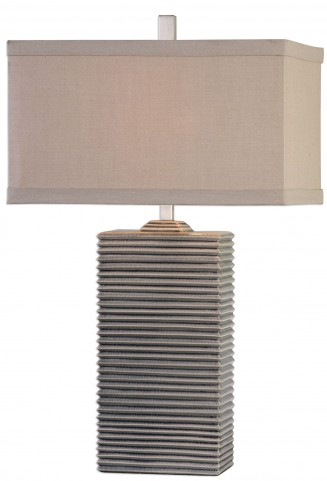 Whittaker Pale Blue Ceramic Lamp