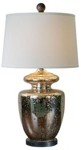 Ailette Antiqued Mercury Glass Lamp