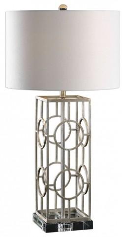 Mezen Silver Table Lamp