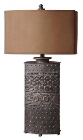 Shakia Olive Bronze Table Lamp