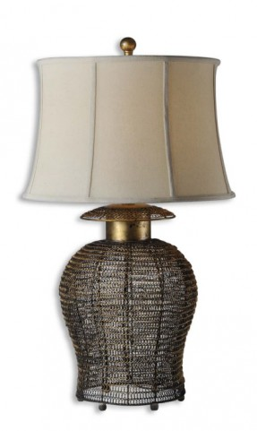 Rickma Woven Metal Table Lamp