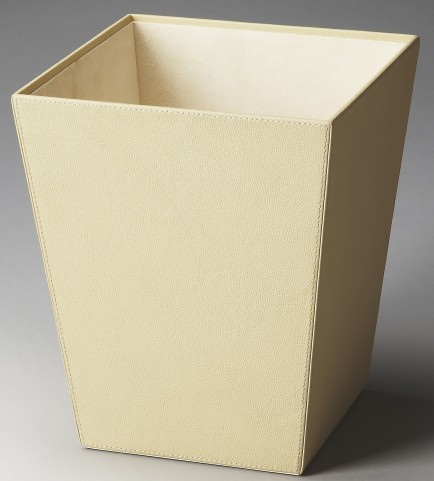 2777287 Lido Hors D'Oeuvres Cream Leather Storage Basket