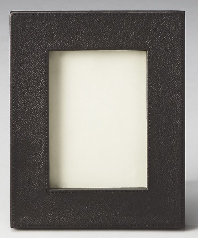 2794034 Lido Hors D'Oeuvres Black Leather Picture Frame