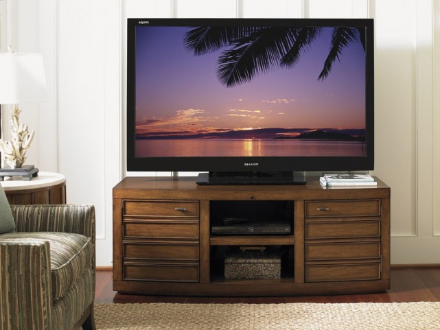 "Longboat Key Warm Sundrenched 60"" TV Console"