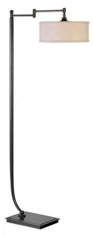 Lamine Dark Bronze Floor Lamp