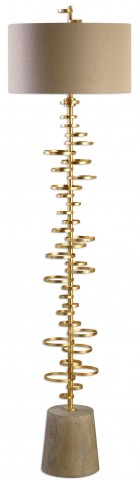 Lostine Modern Gold Floor Lamp