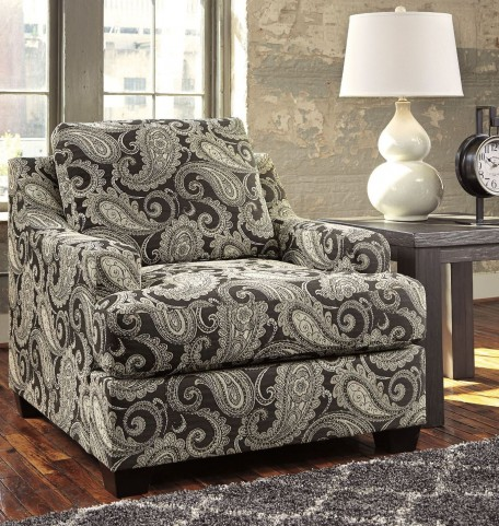 Gypsum Charcoal Accent Chair