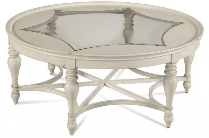 Sanibel White Round Cocktail Table