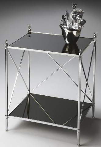 2862220 Modern Expressions Nickel End Table