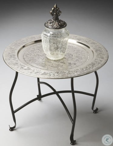 2866025 Metalworks Moroccan Tray Table