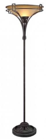 Verduno Rust Black Floor Lamp