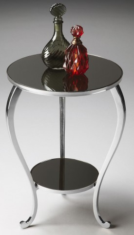2880220 Modern Expressions Nickel Accent Table
