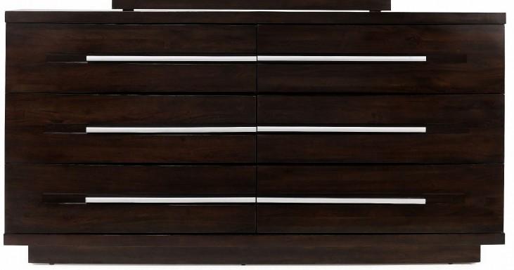 Manola Coffee 6 Drawer Dresser