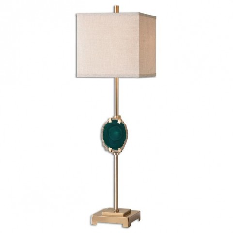 Achates Emerald Agate Buffet Lamp