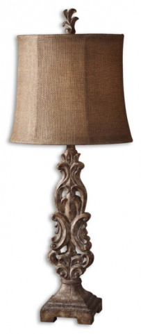 Gia Scrolled Buffet Lamp