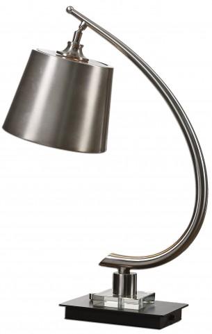 Azzanello Brushed Nickel Lamp