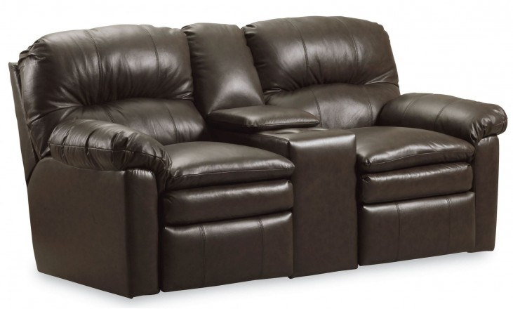 Touchdown Double Reclining Console Sofa