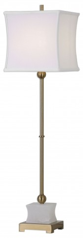 Liano Brushed Brass Buffet Lamp